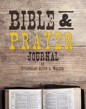 bible and prayer journal