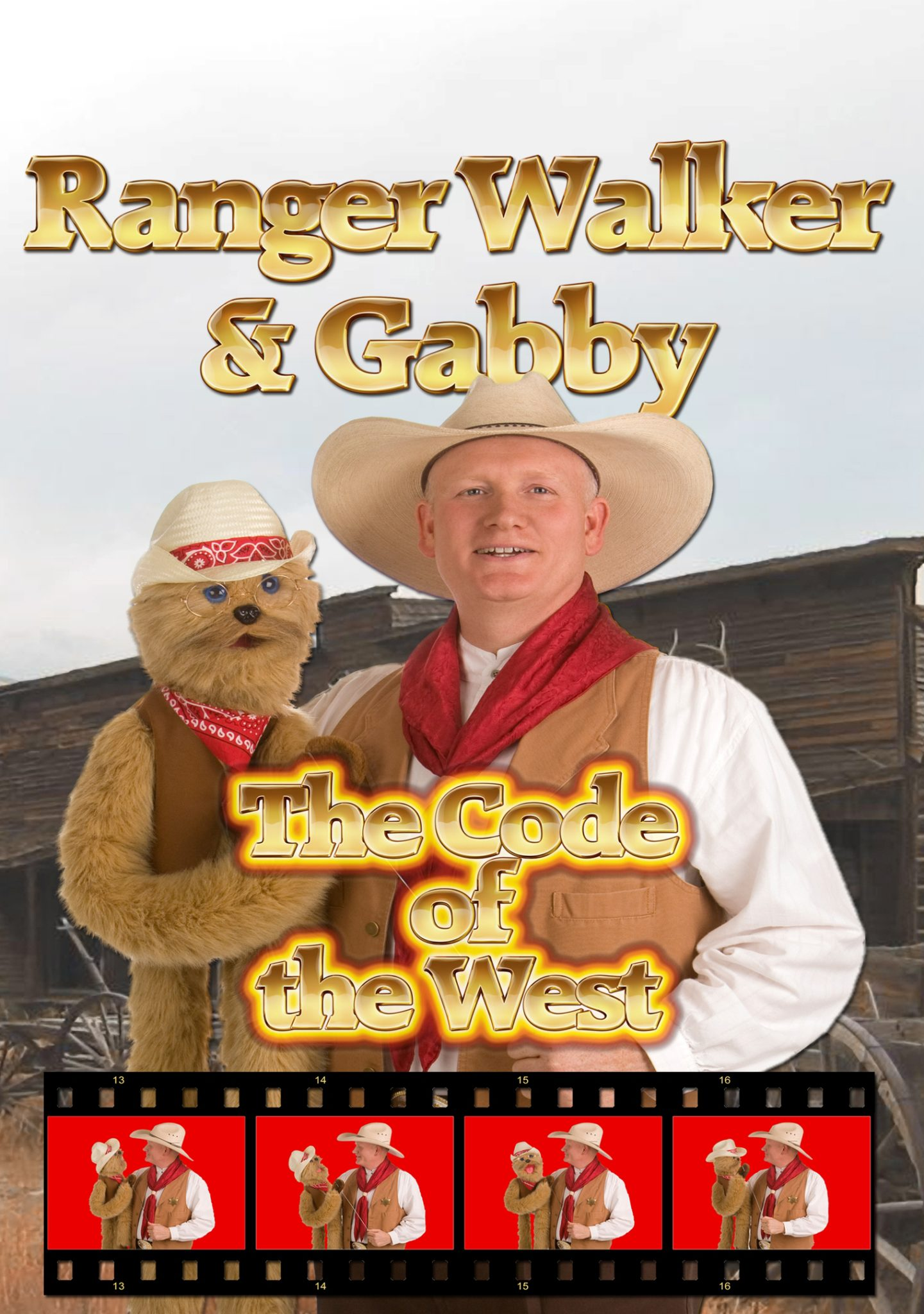 code of the west dvd ranger walker and gabby
