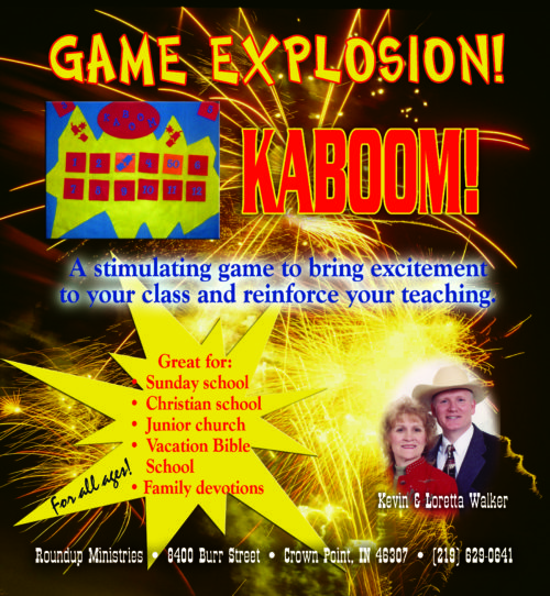christian games for kids kaboom kevin and loretta walker