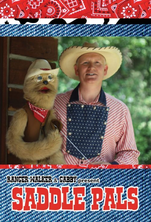 saddle pals dvd with ranger walker and gabby