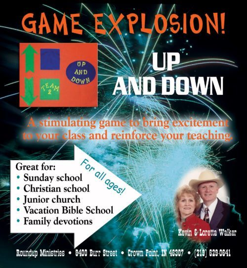 christian games for kids up and down kevin and loretta walker