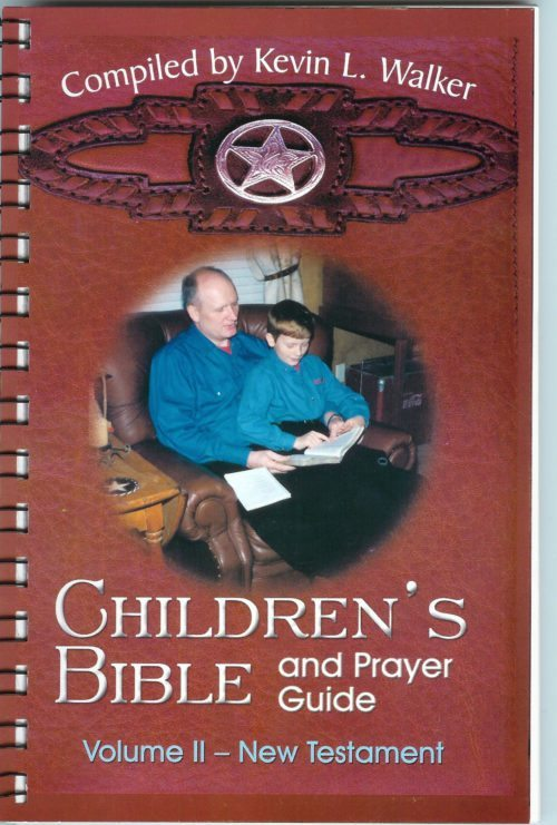 children's bible and prayer guide old testament kevin walker