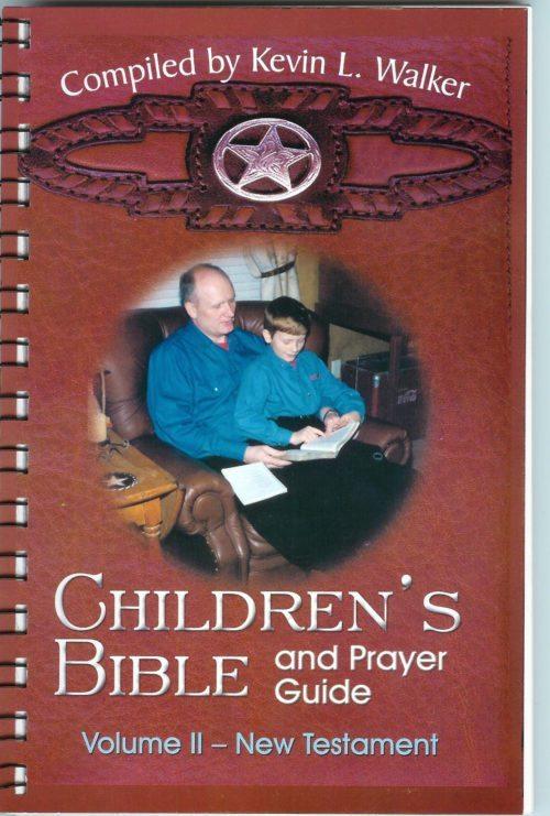 children's bible and prayer guide old testament kevin walker