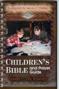 children's bible and prayer guide kevin walker