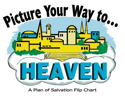 picture your way to heaven flipchart