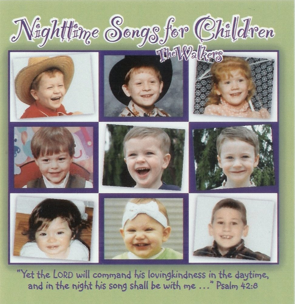 nighttime songs for children the walkers
