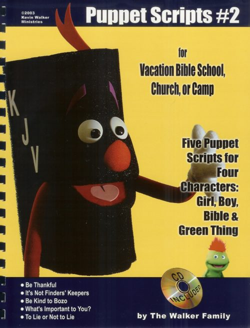christian puppet scripts volume 2 the walkers