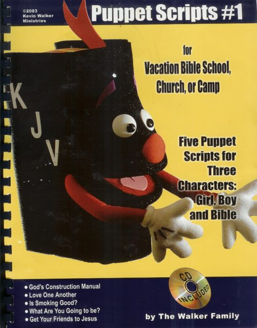 christian puppet scripts volume 1 the walkers